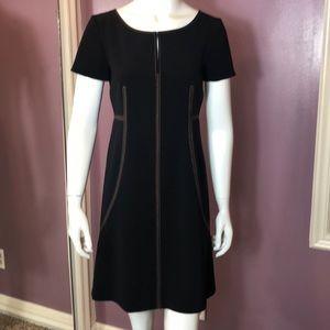 Alberta Ferretti Embroidered Sleeveless Dress